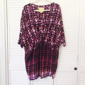 Maeve batwing dress with pockets